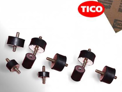 Tico anti vibration pads and mounts