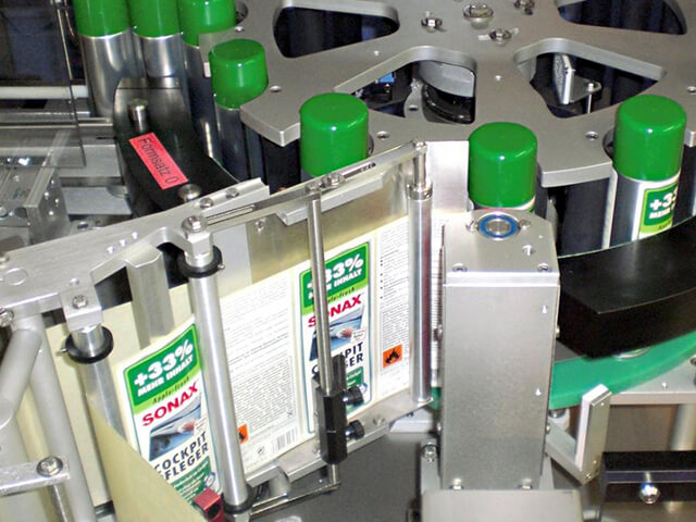 Bottle Labelling Machines