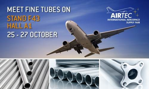 Aerospace tubing manufacturers exhibit latest alloys at AIRTEC