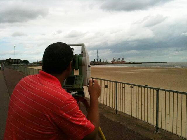 Reflectorless Surveying