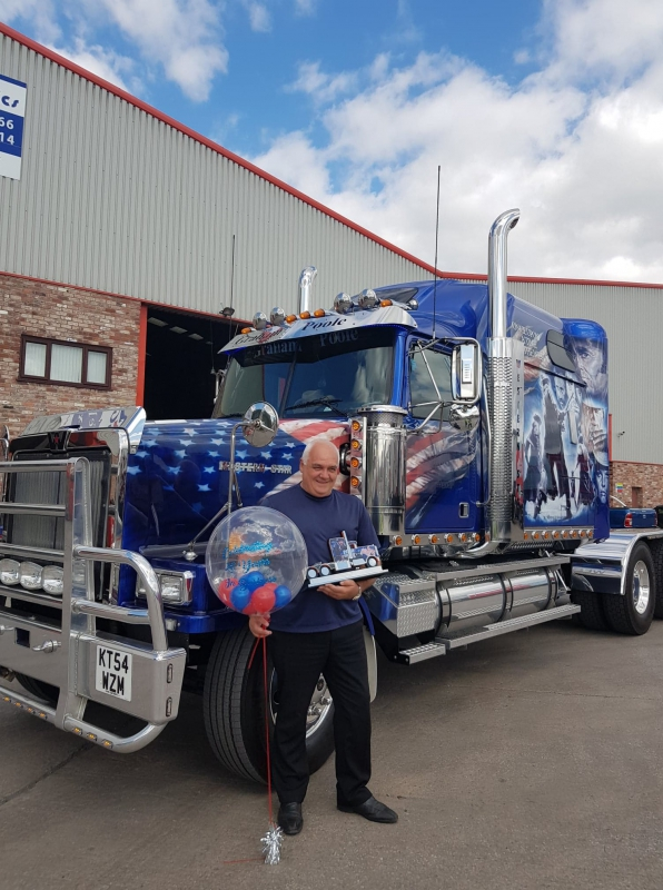 EFX Meets Creative Business Trophy Demand with Clint Eastwood Truck