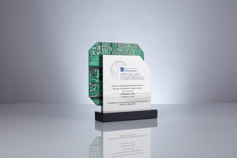 Business Awards Turn High-Tech with Circuit Board Design