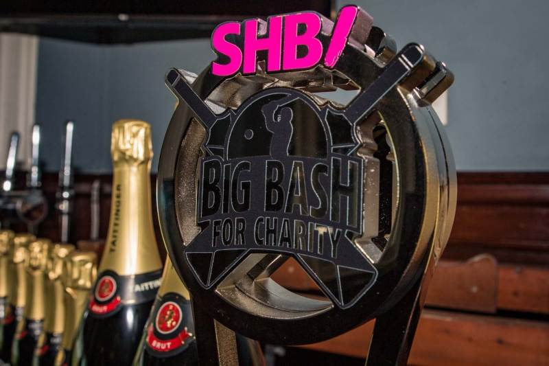 Special EFX Creates Mega-Sized Cricket Trophy for SHB Big Bash