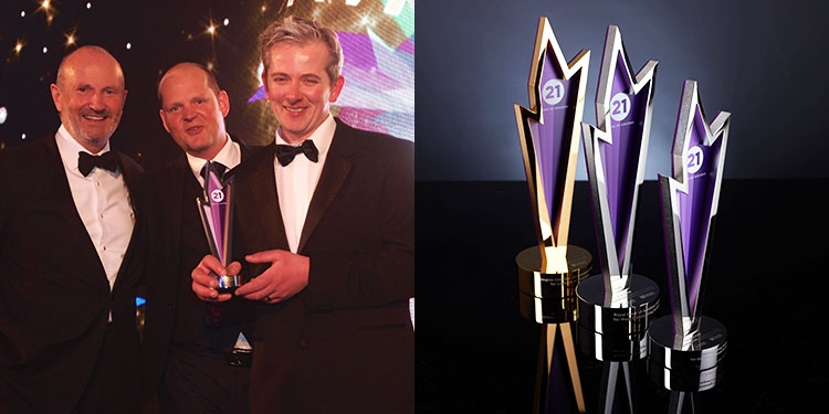 Midlands Trophy Manufacturer Wins Awards Business for Glasgow Chamber of Commerce