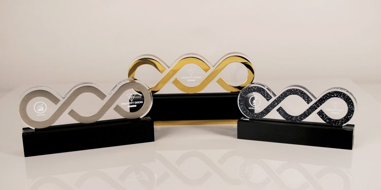 Special EFX Builds Chain Trophies for Leading Construction Company