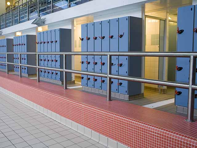 Pool Side Lockers