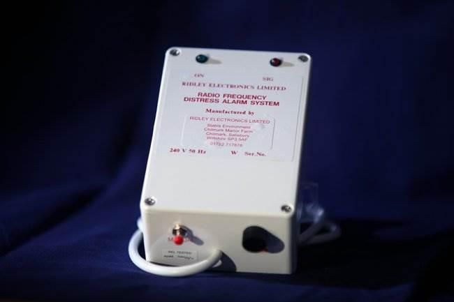 Radio Frequency Distress Alarm