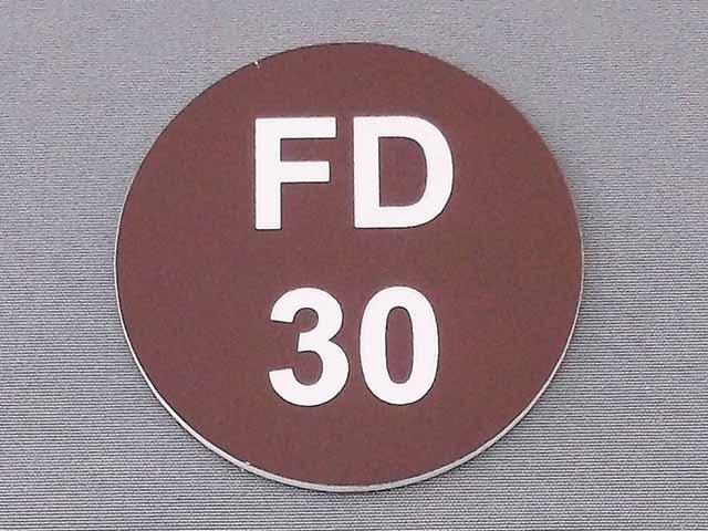Fire Door Labels
