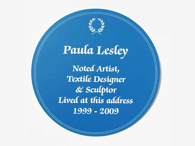 Heritage Blue Plaque