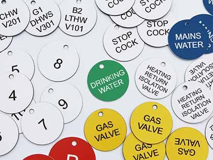 Valve Discs Tags