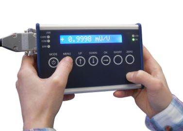 New high speed, portable data logger and digital display