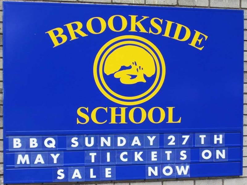 School Tile Sign