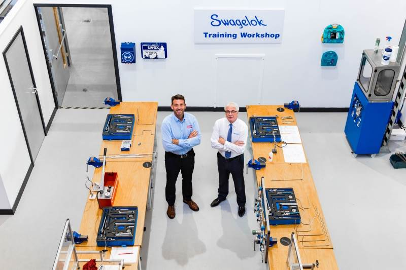 Swagelok Scotland, Teesside & Ireland opens a new training academy in Teesside