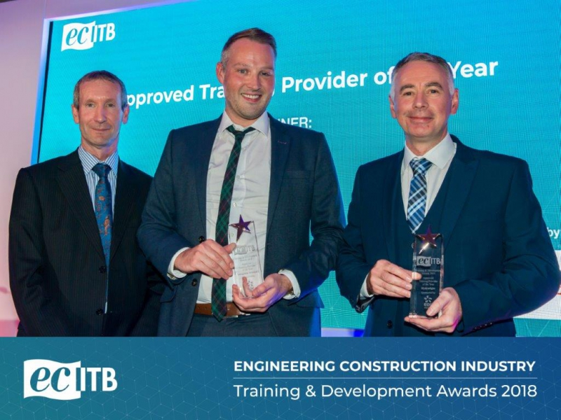 Finalist at the Engineering Construction Industry Training & Development Awards