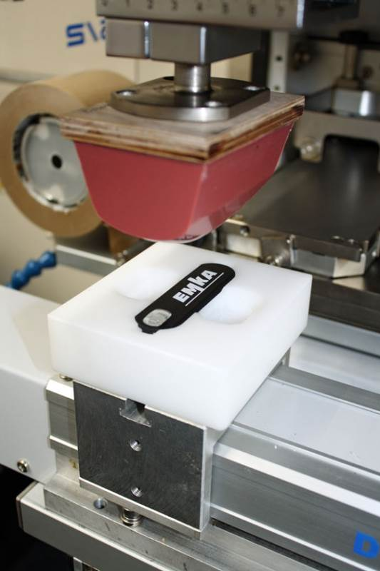 New colour printing on enclosure hardware from EMKA