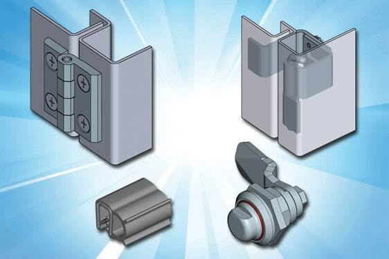 Stainless Steel Hardware for Stainless Steel Enclosures – from EMKA