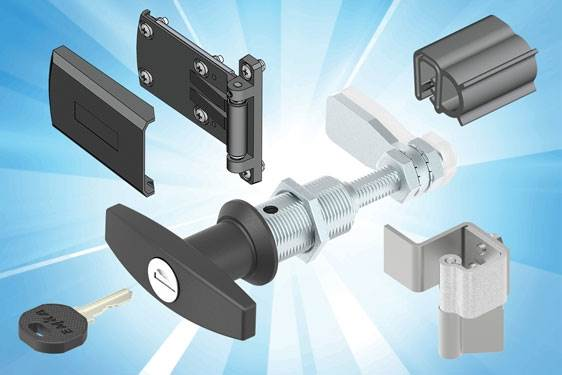 EMKA enclosure hardware for Air Conditioning Systems