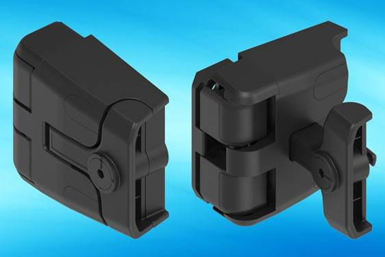New EMKA compression locking hinge for HVAC installations