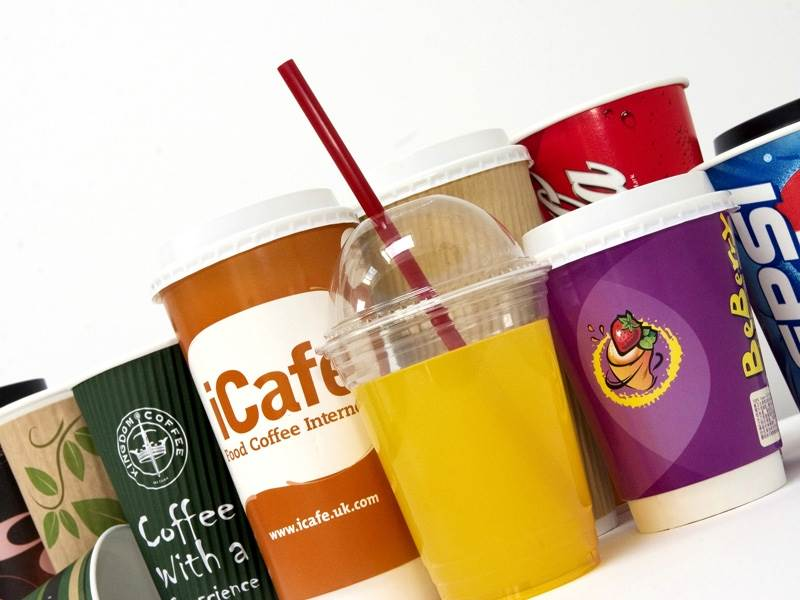 Cups & Lids for Hot and Cold Beverages