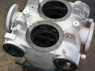 Rubber Lined Multi-port Valve