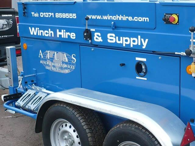 Cable Winch Hire