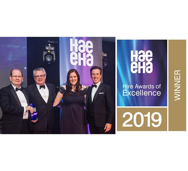 Two Wins for Niftylift at the HAE Awards 2019