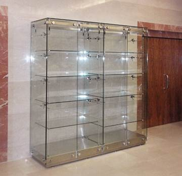 New Display Cabinets brochure from The Shopkit Group