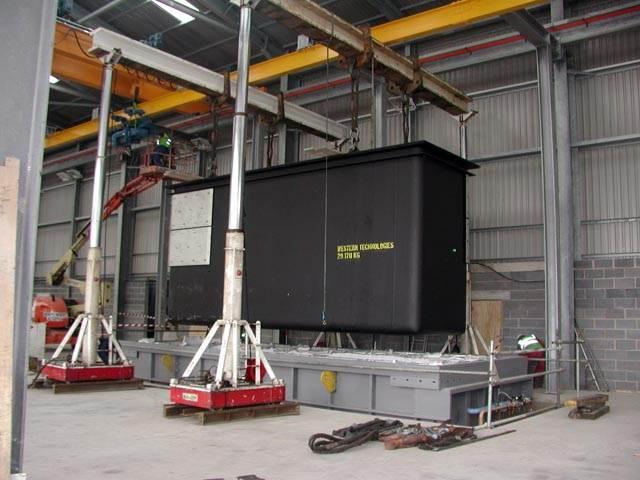 Industrial Machine Relocation