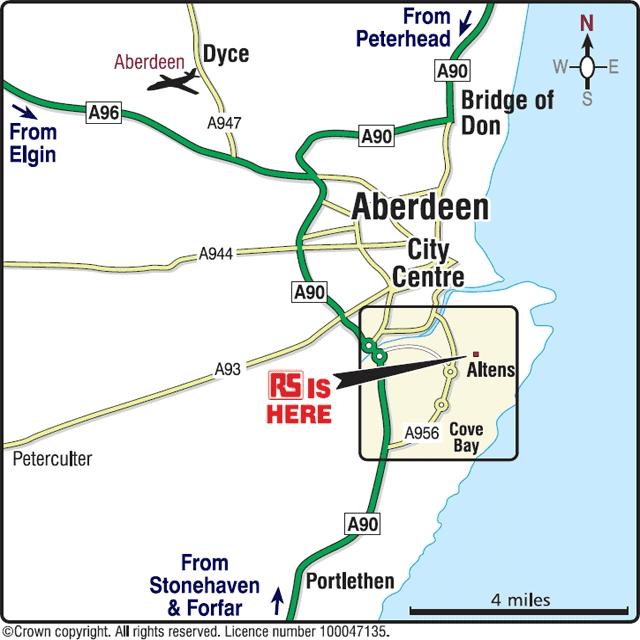 RS Components Ltd (Aberdeen), Aberdeen, AB12 3HT