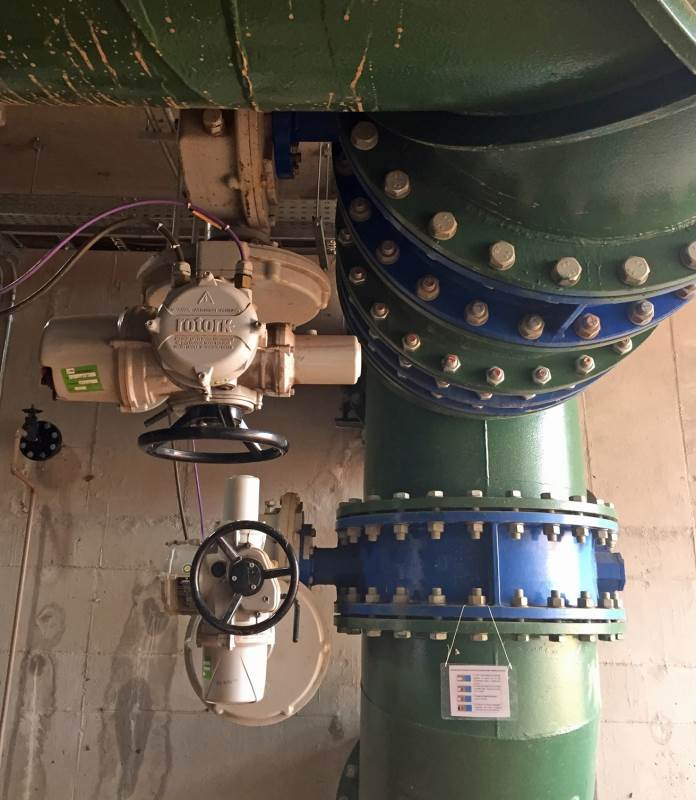 Rotork IQ actuators selected for Brazilian water treatment plant upgrade