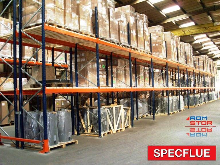 Pallet Racking Project - Specflue Case Study