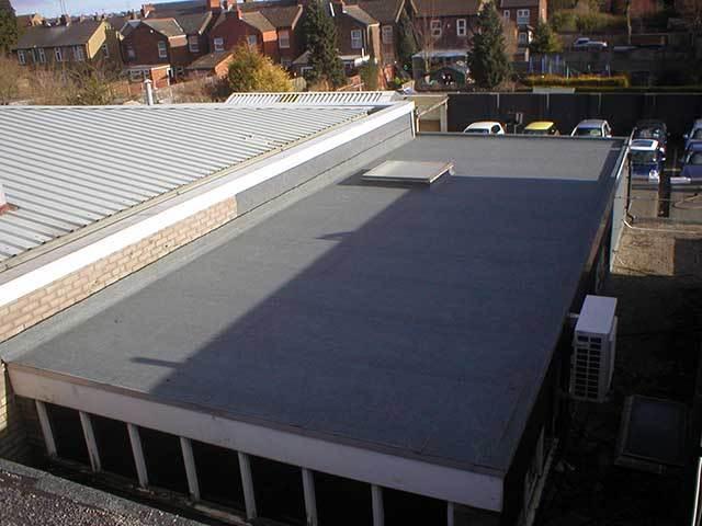 After Felt Roof Installation