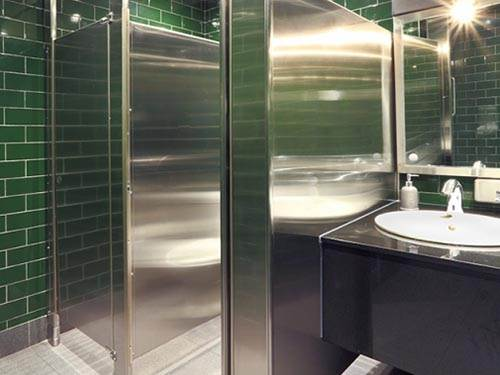 Hadrian Stainless Steel Cubicles