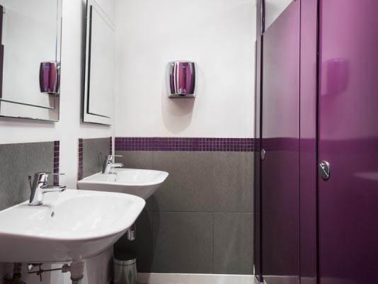 Hadrian Toilet Cubicles