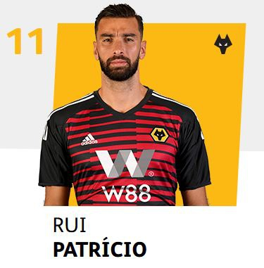 RUI PATRICIO – 2019 WOLVES PLAYER SPONSOR