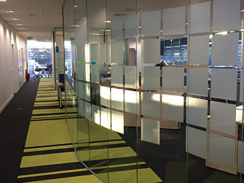 Interior Office Partitioning