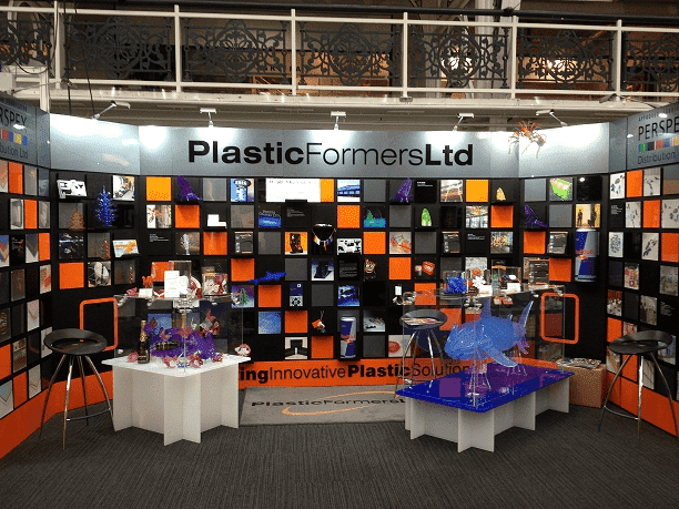 Our exhibition stand