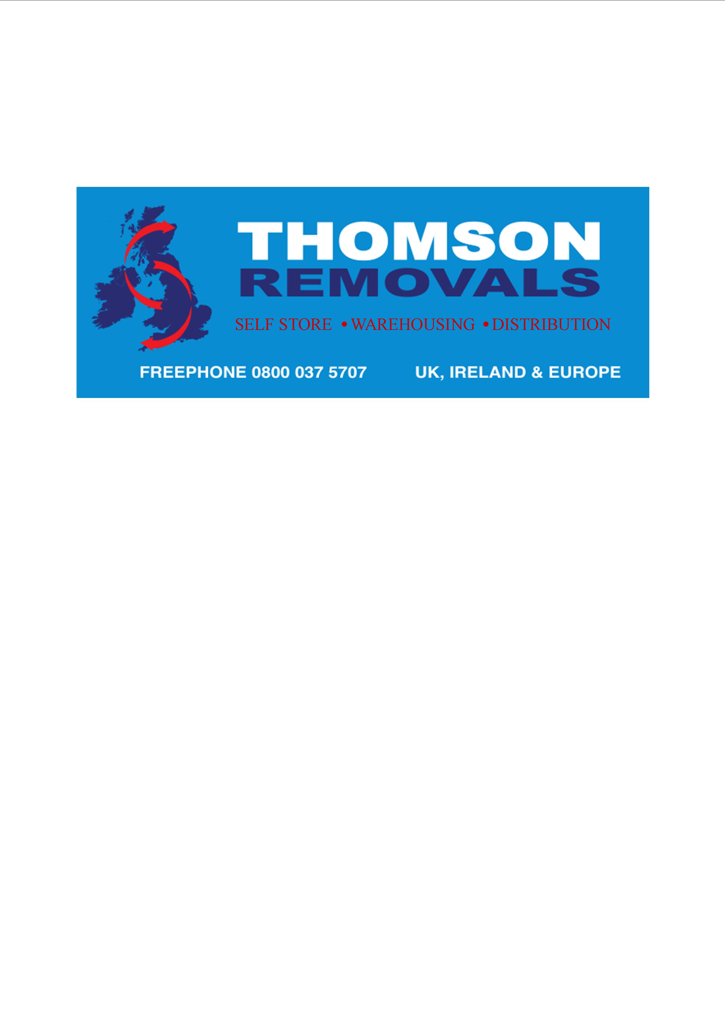 THOMSON REMOVALS AND SELF STORAGE