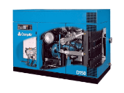 Compair D75 to D150 Air cooled Compressors
