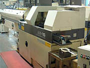 One of our CNC Sliding Head Lathes