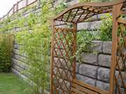 CPM Redi-Rock modular walling for landscaping