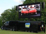 Outdoor Cinema with 46sqm Mobile LED Screen