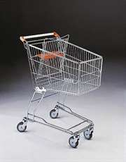 100 Litre Shopping Trolley and Baby Carrier