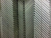CNC bent 3mm thick mild steel angles
