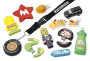 Custom designed PVC USB promotional flash drives