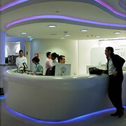 Grp / Fibreglass Receptions desks