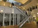 Staircase to Atrium between 1st and 2nd floors in