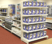 Tegometall Shop Shelving
