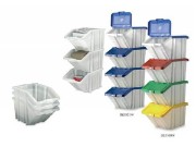 Large range of plastic recycling boxes B2B supplie