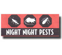 Company logo for Night Night Pests